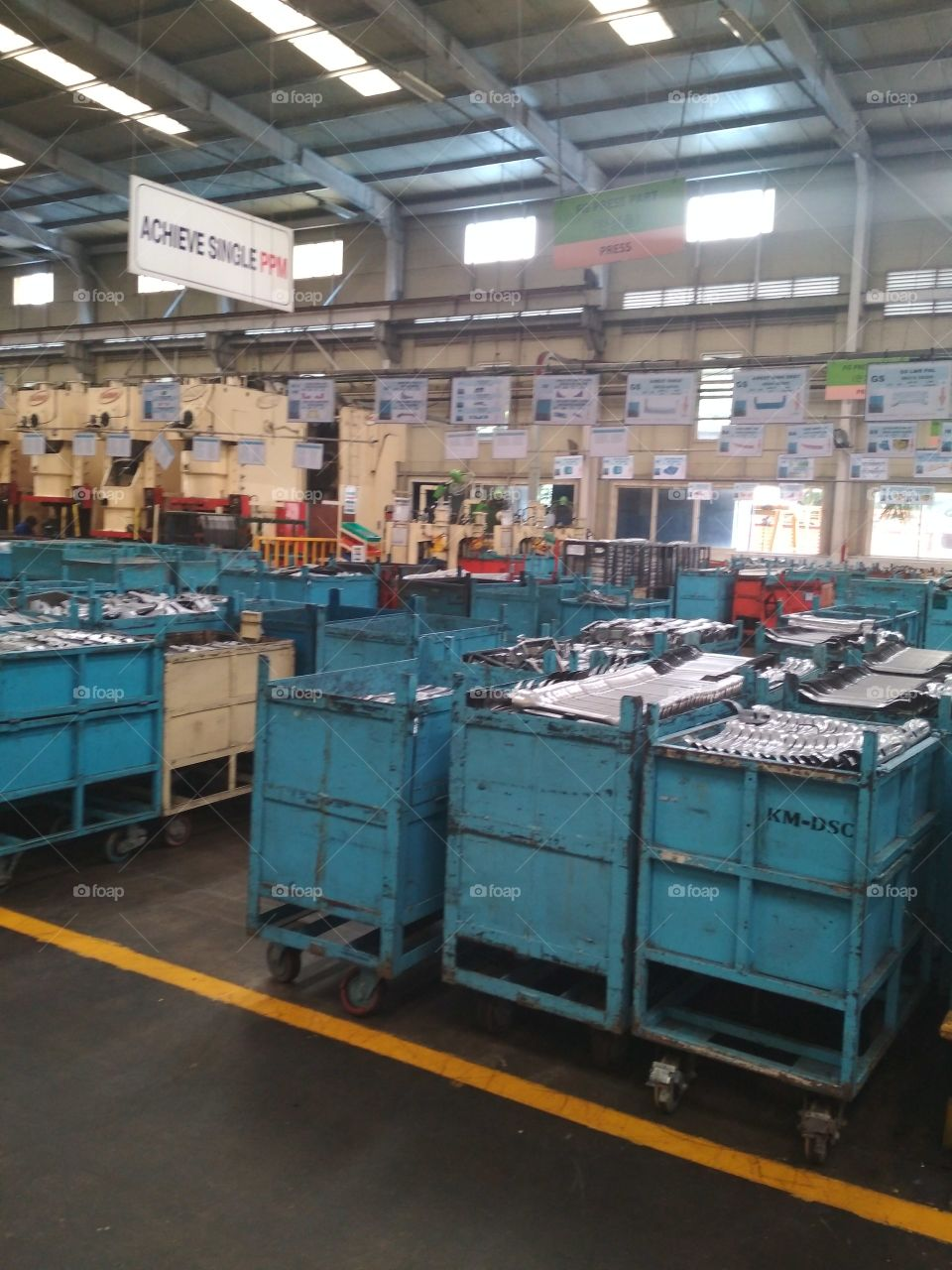 Grinder, Industry, Container, Warehouse, Commerce