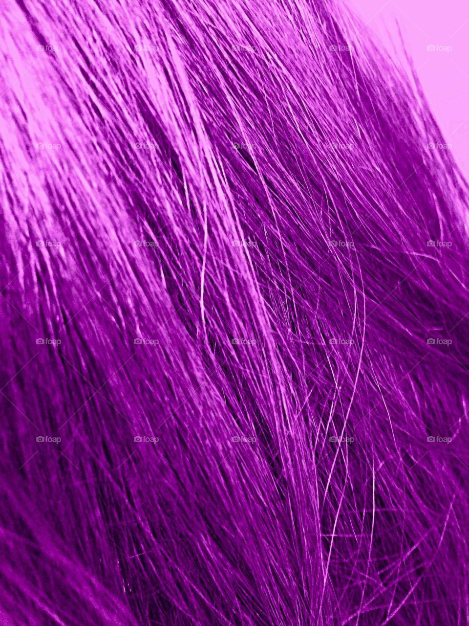 Purple hair colour
