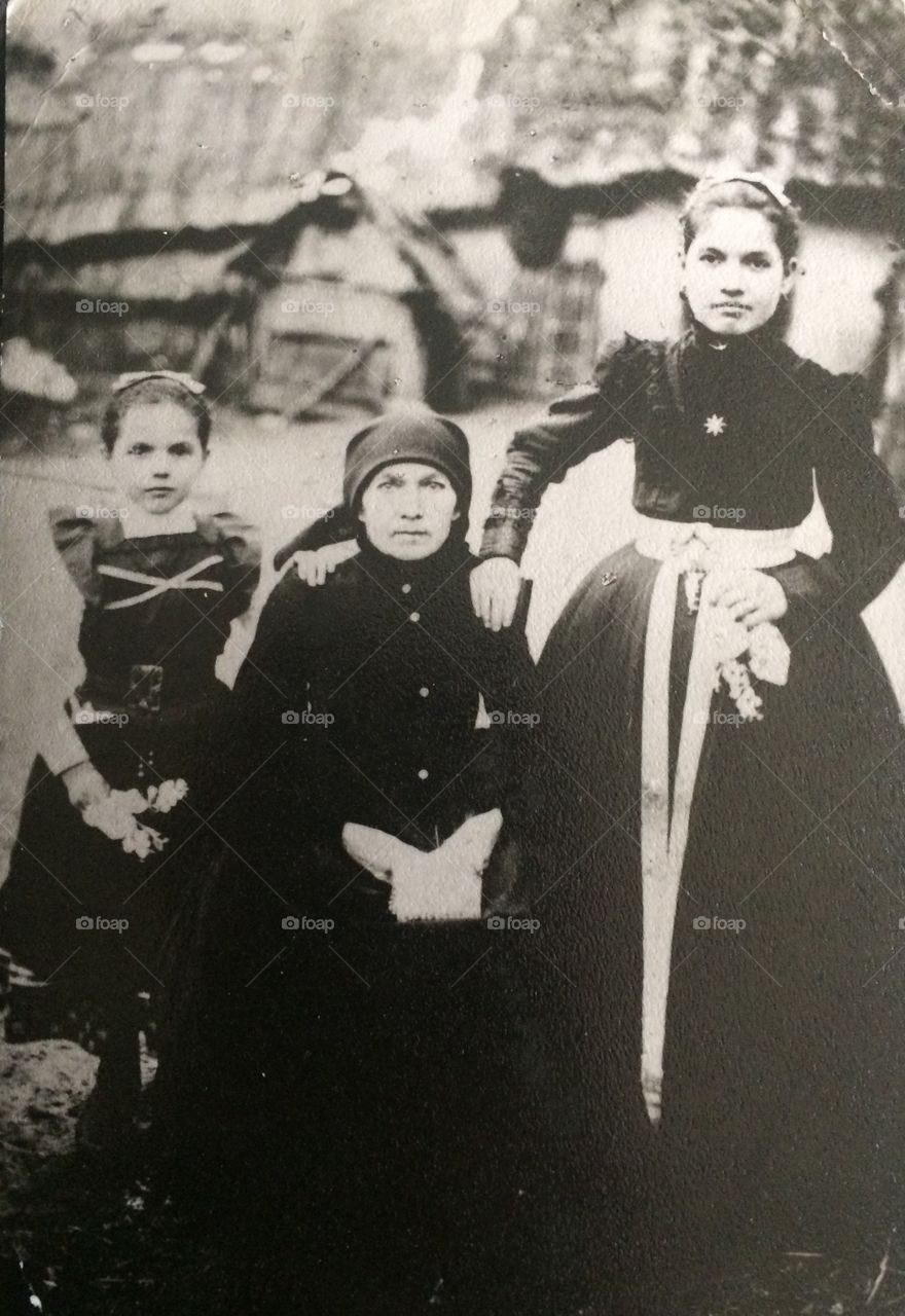 My family from the late 1800's