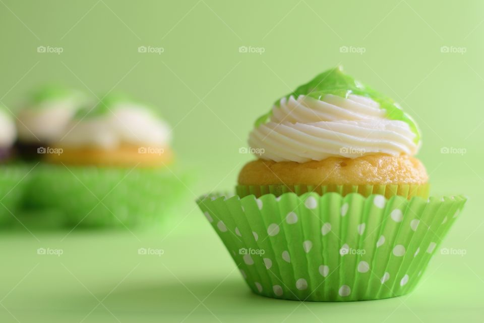 Cupcakes in Green