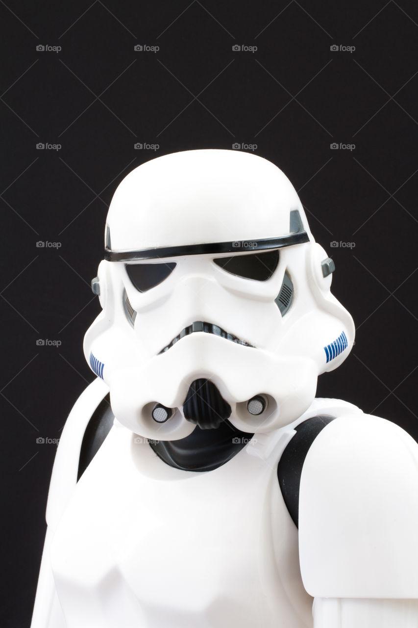 Star Wars Stormtrooper fancy dress.