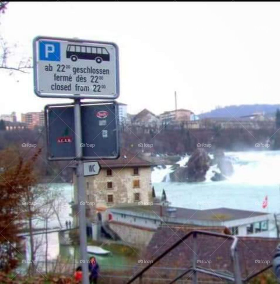 Rhrine Falls Schaffhausen Germany