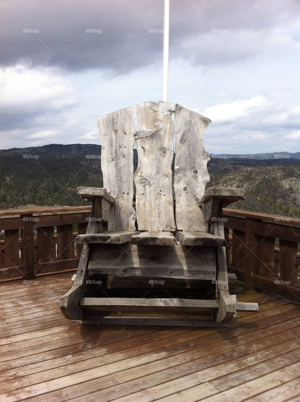 norway sky chair mountain by daniel-t22