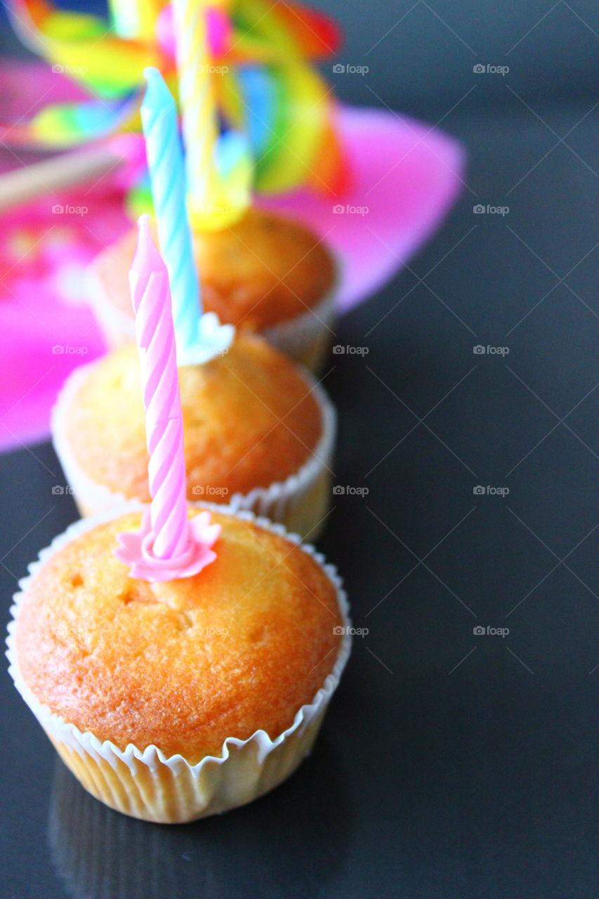 cupcakes macro shot