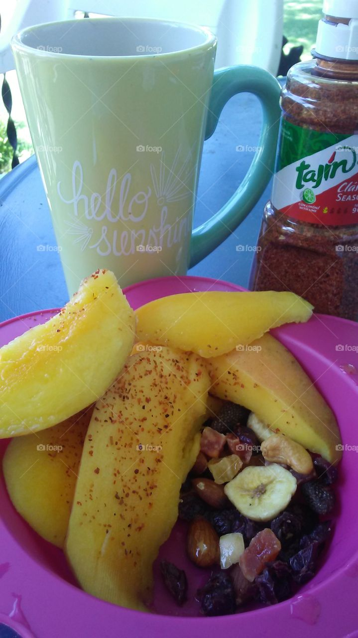 Healthy Morning with Cup Of Love