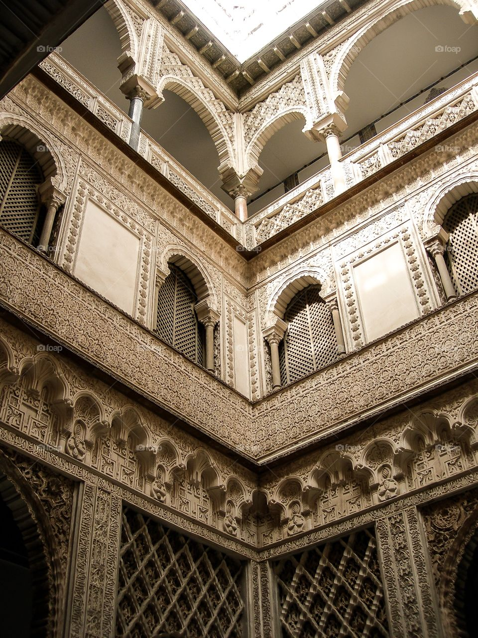 Patio de las Muñecas. Patio de las Muñecas - Reales Alcazares (Sevilla - Spain)