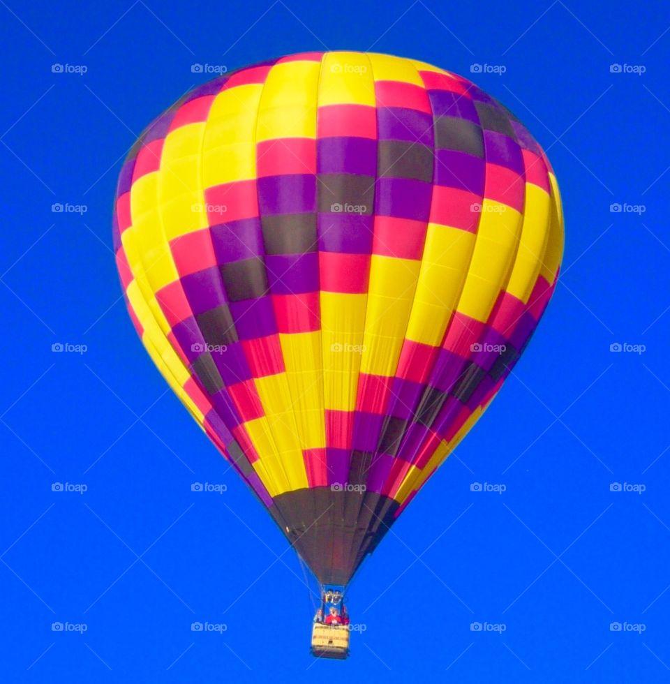 Taos Balloon Festival at Sunrise