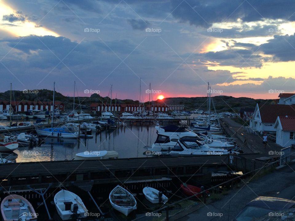 Sunset at Fotö