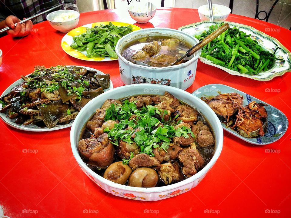 Local Taiwanese food. Farm visit
