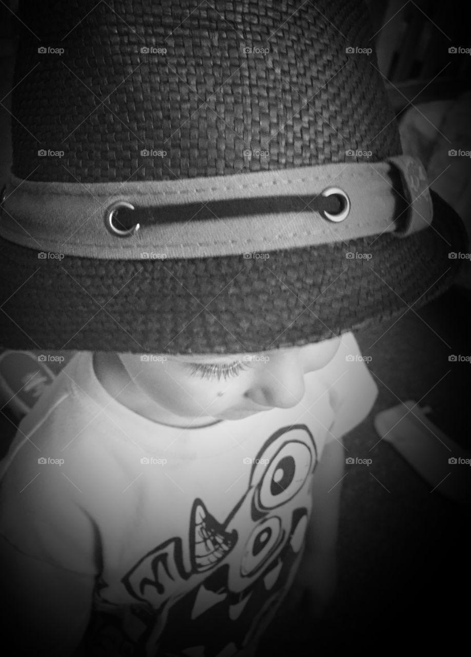 Stylish little boy!