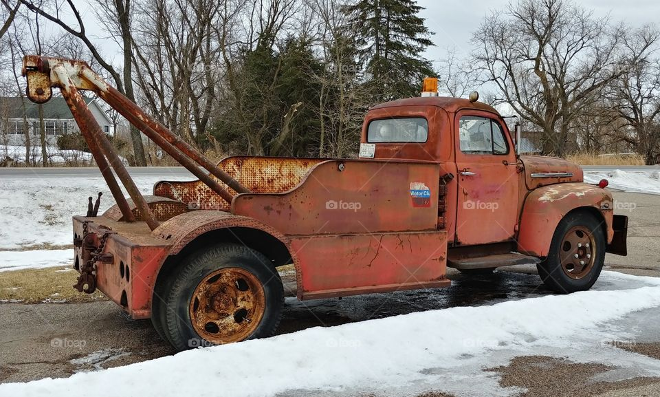 50s Tow Truck