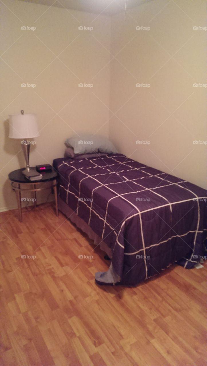 room. Dorm room