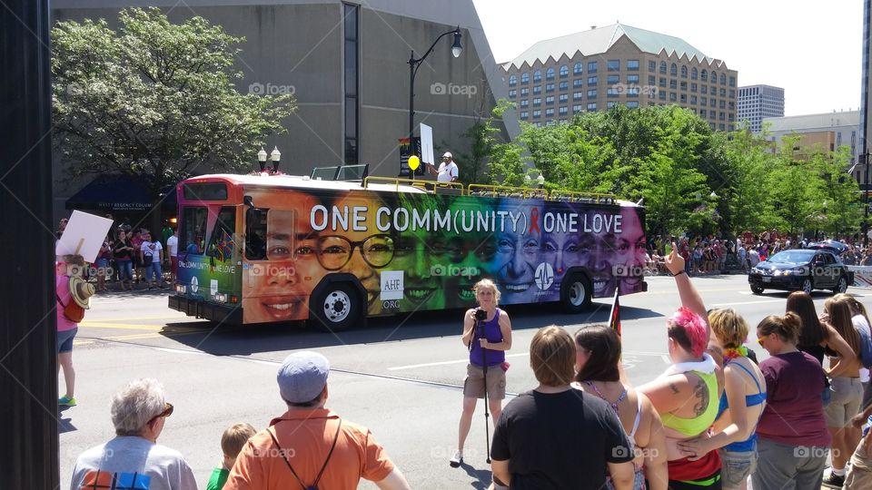 one love bus