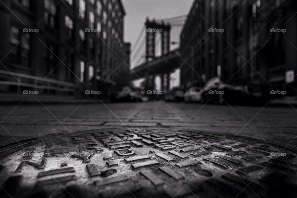 NYC sewers manhattan bridge