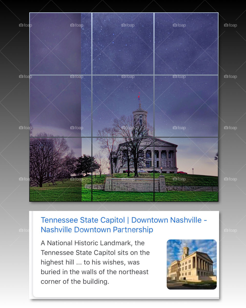 Tennessee State Capitol Downtown Nashville
