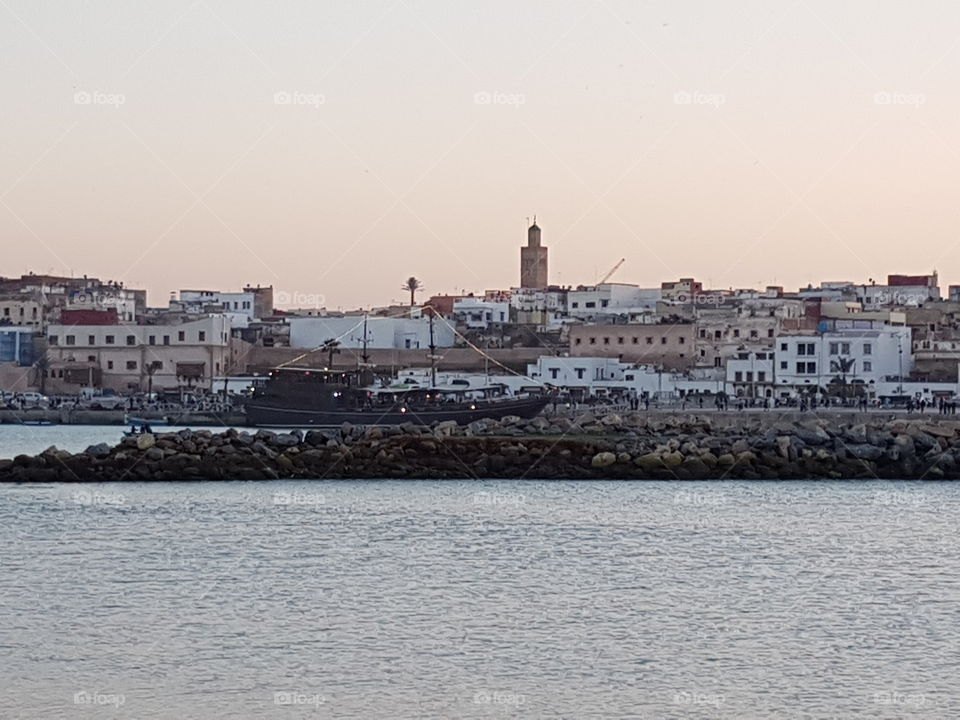 Bouragrag River Oudaya Rabat Old City, Pic From Sale City Morocco