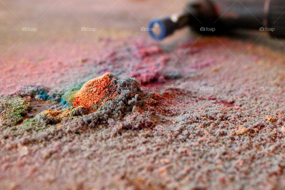 color dust