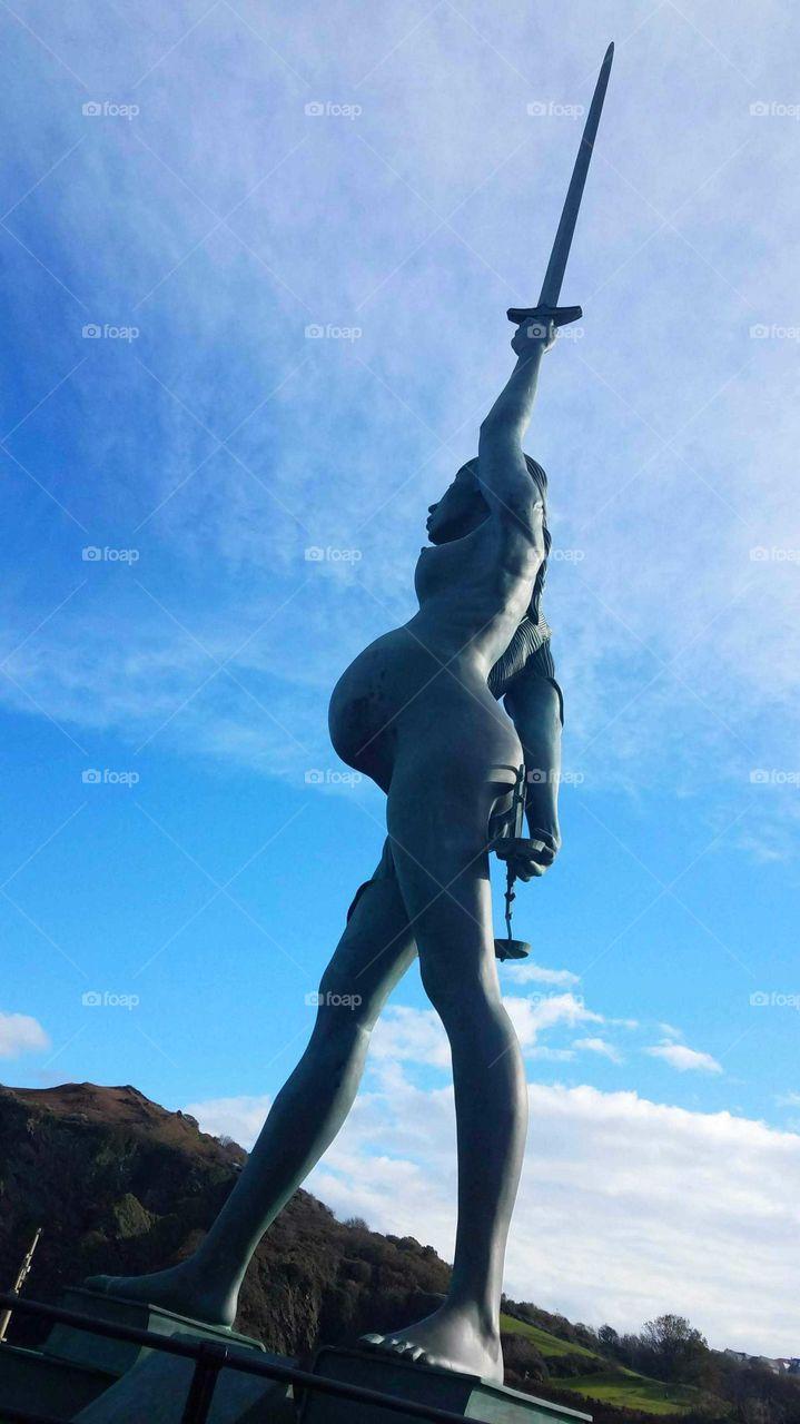 Verity Statue, Ilfracombe
