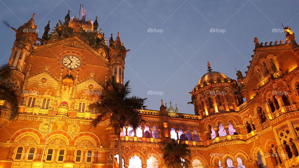 Heritage Building - Chatrapati Shivaji Terminus (earstwhile Victoria Terminus) Mumbai