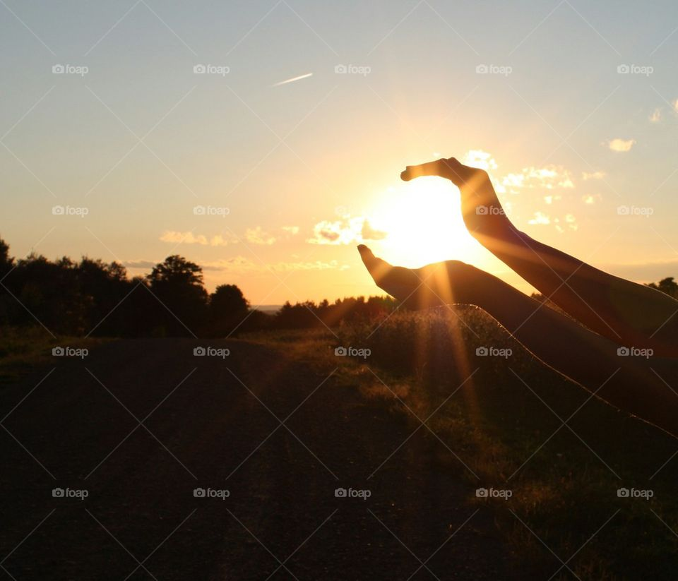 a potter county sunset