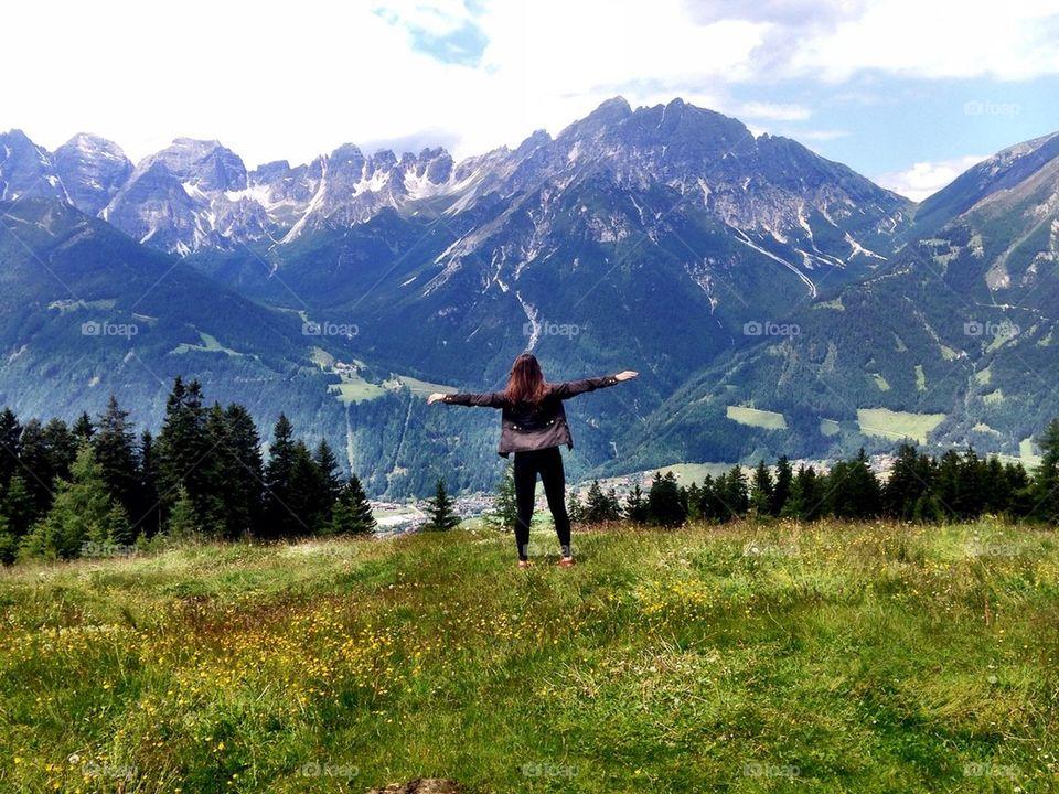 mountain | landscape, nature, hike, sky