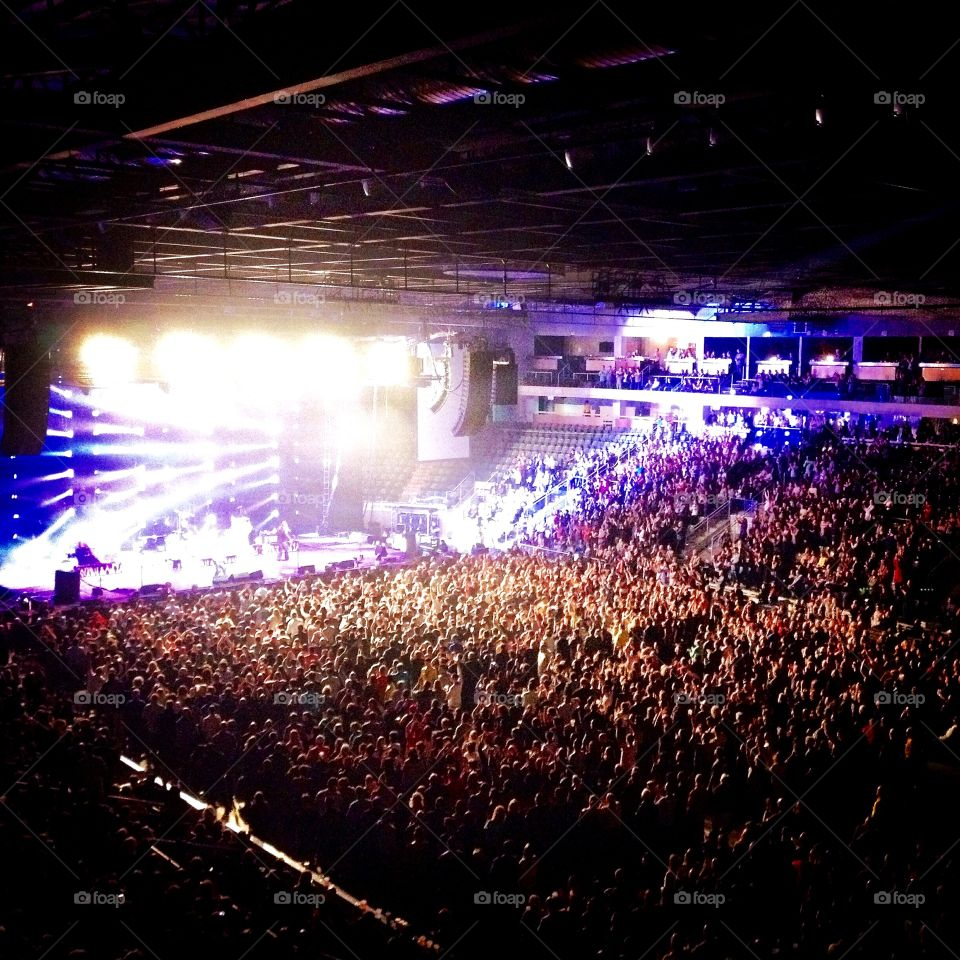 Sold Out Crowd . 5800 people packed the K-Rock centre in Kingston ON to see their own Tragically Hip