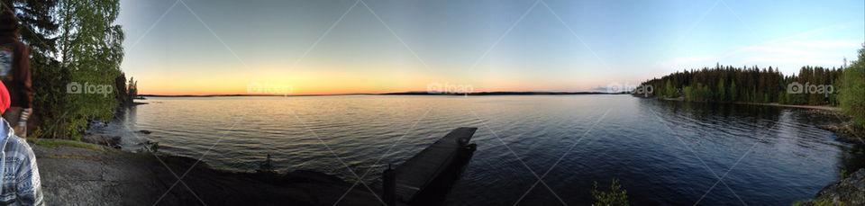 sky sunset water beautiful by kekejari