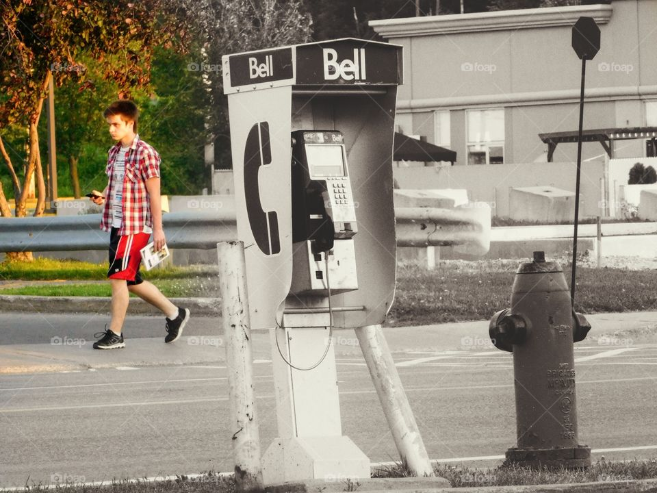 Cellphone versus Phone booth