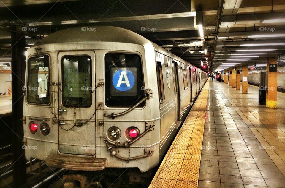 Downtown A Train