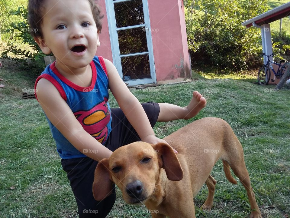Kids and pets