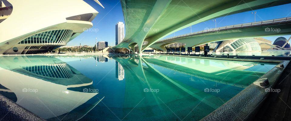 Ciutat de les Arts i les Ciències, Valencia, Spain