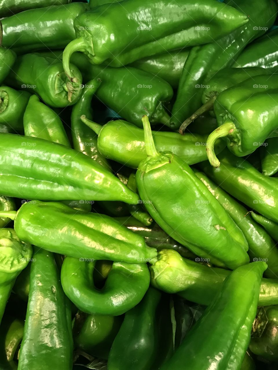 Green peppers- vegetables-many-
