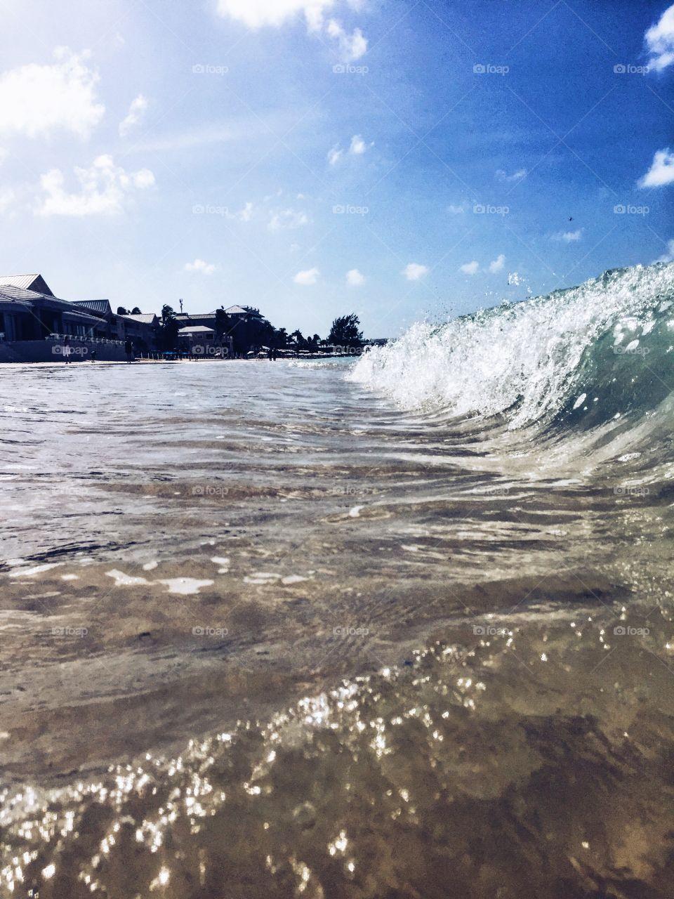Water, Ocean, Sea, No Person, Seashore