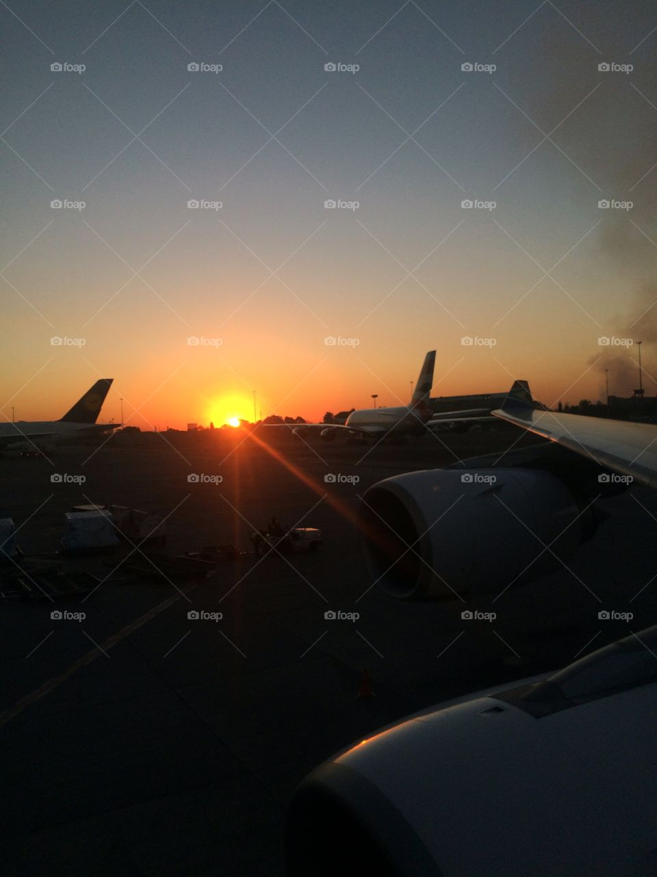 south african sunsets . aviation airports  aircrafts  south africa  Roots