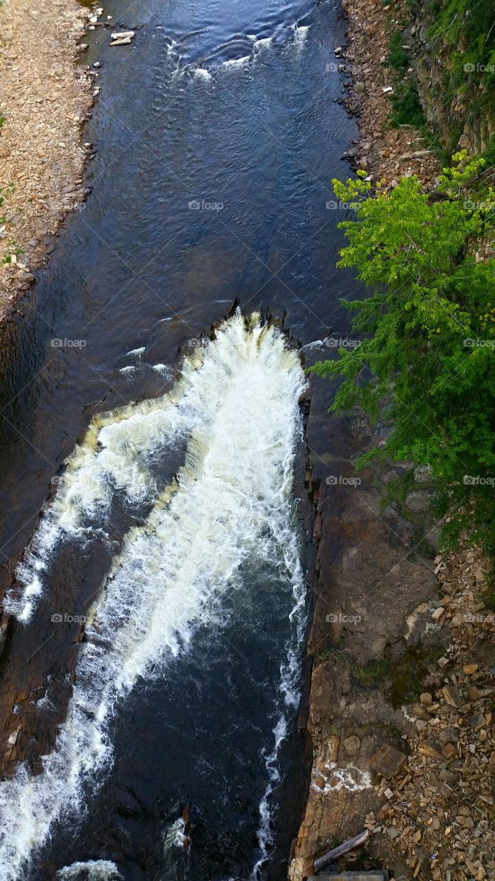 ausable chasm river. one of the beautiful views from the ausable chasm in the Adirondacks of NY