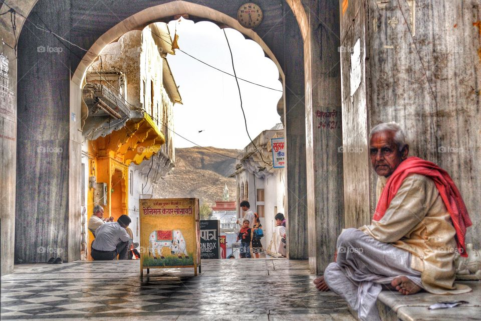 India archway . India archway