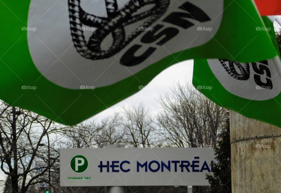 CSN, HEC Montreal