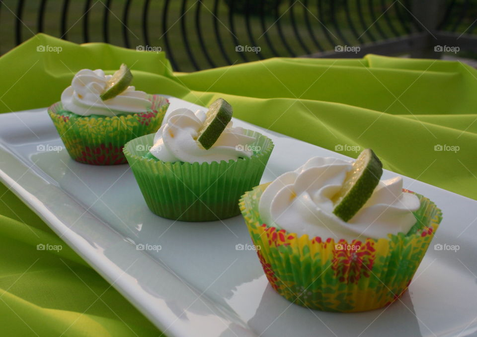 Summer Lime. Jello, vanilla ice cream, and key lime for a sweet dessert.