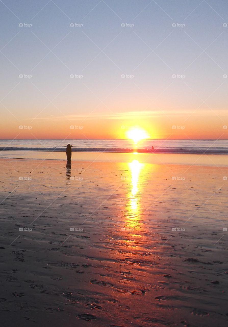 Sunset in Monterey, CA