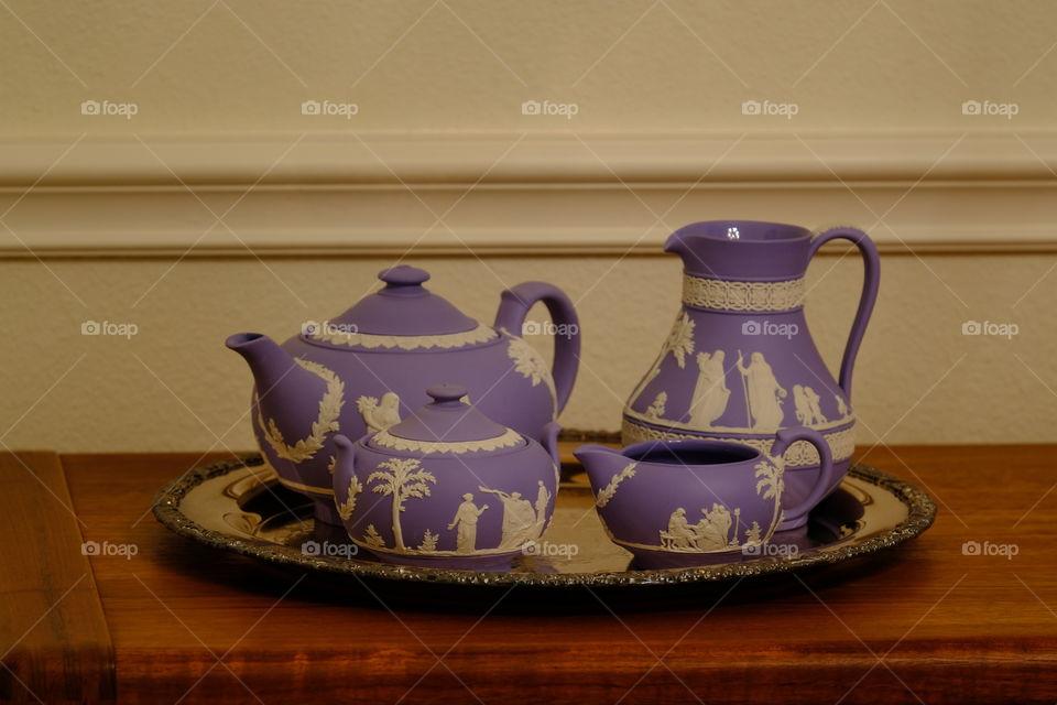 Tea set Practice Detail