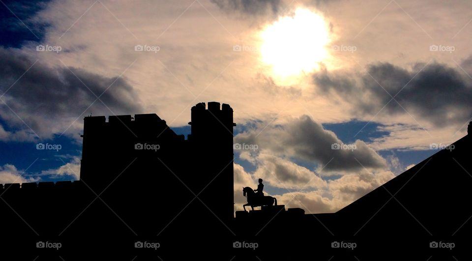 Windsor Castle silhouette