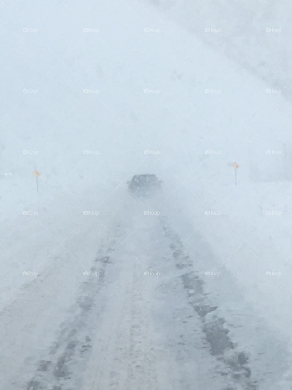 Winter driving in Canada