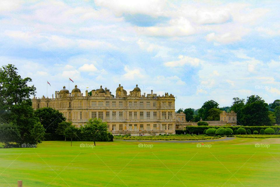 Majestetic Longleat Hall, UK