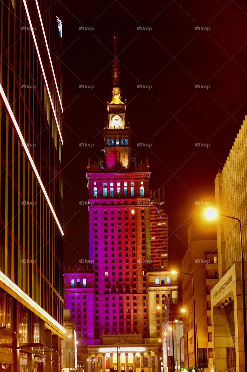 PKiN, Warsaw, Poland