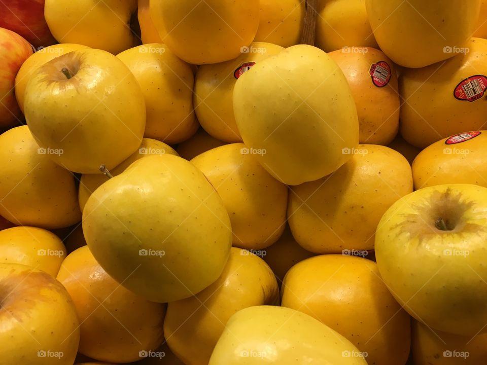 Full frame of fresh apples during apple