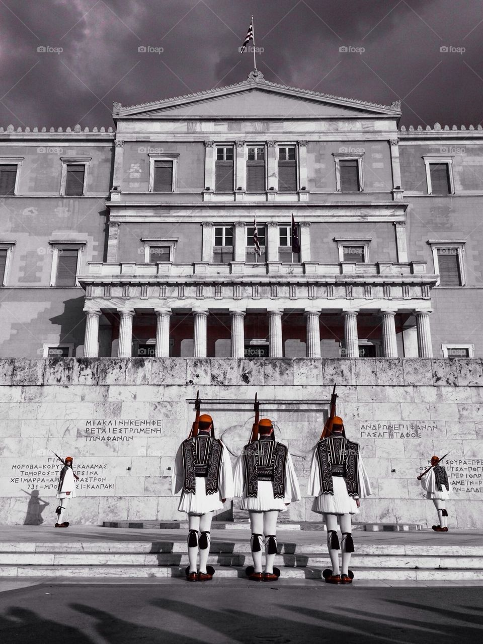 Parliamentary guards