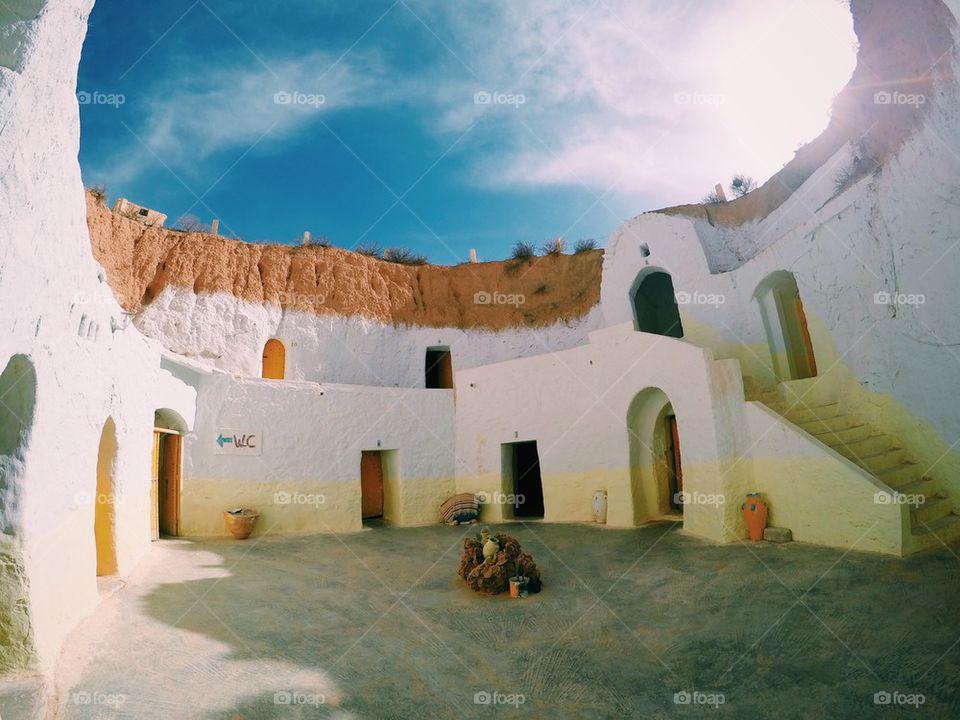 Matmata village in Tunisia- the location where Star Wars has been filmed