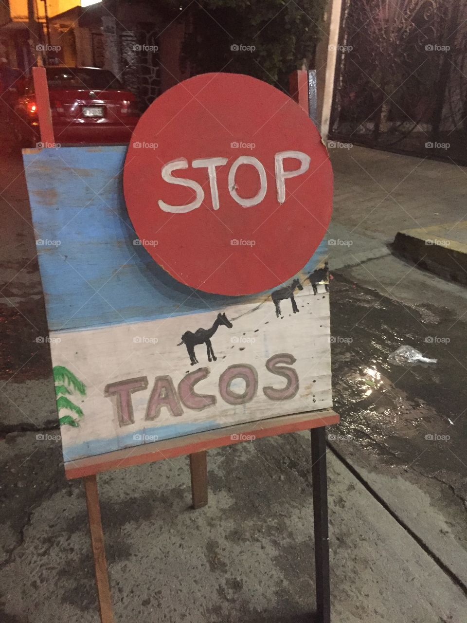 Stop for tacos !!