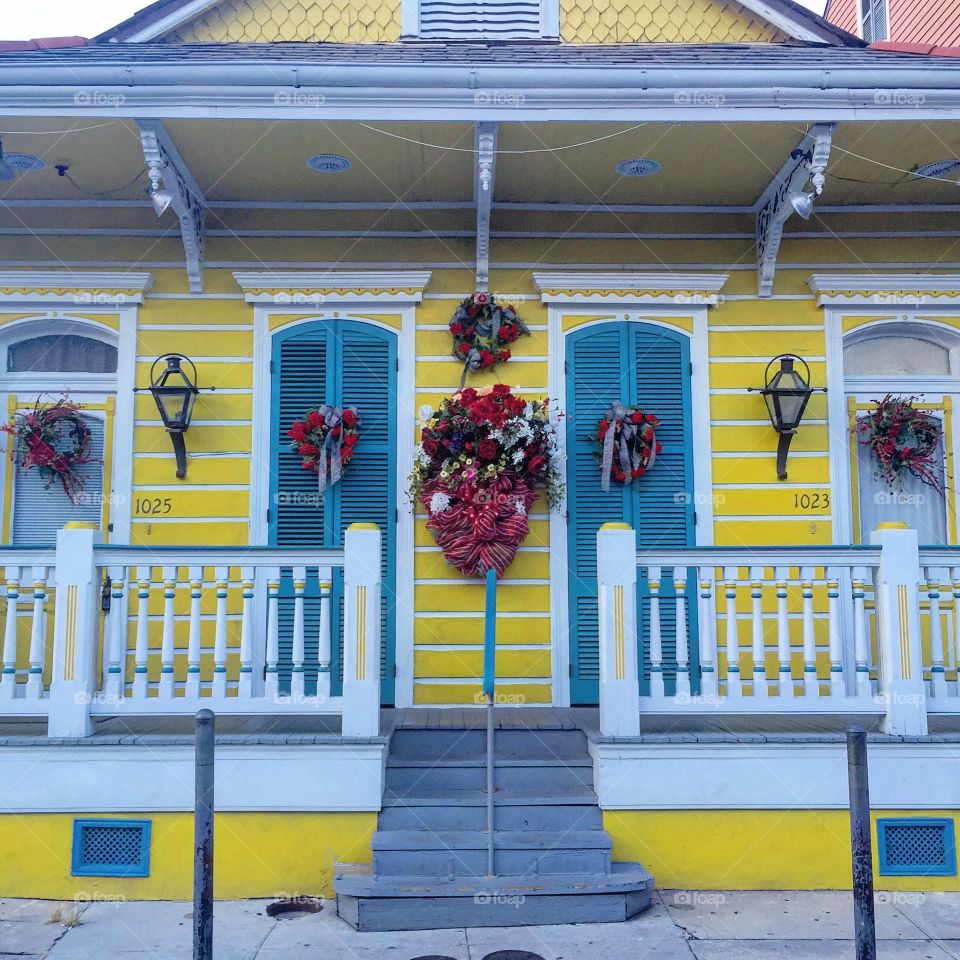 New Orleans. Getting lost in Nawlins' colors.