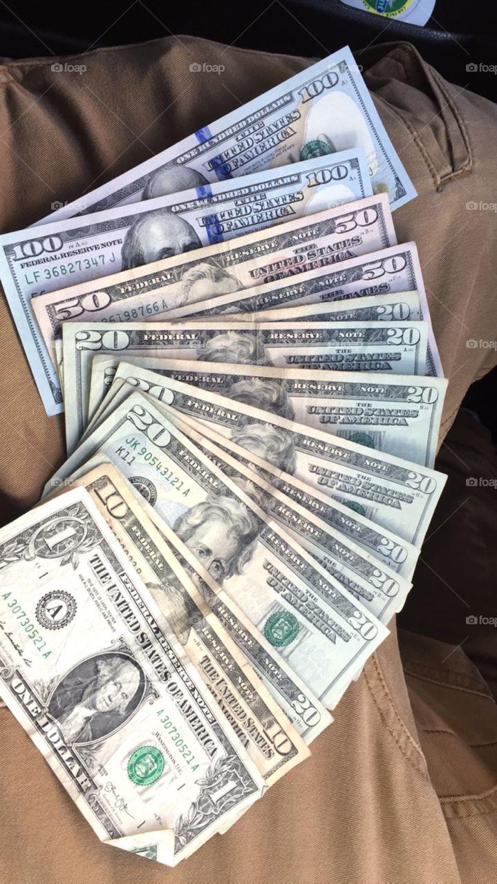 Gotta love money
